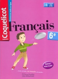 Collectif d'auteurs - Français 6e Coquelicot.