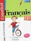 Collectif d'auteurs - Français CE1 Coquelicot - Livret d'activités.