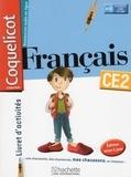 Collectif d'auteurs - Français CE2 Coquelicot - Livret d'activités.