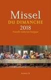 Collectif d'auteurs - Missel du dimanche 2018.