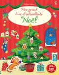 Collectif d'auteurs - Mon grand livre d'autocollants - Noël.