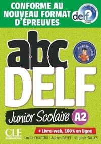 Collectif - Delf Junior niv.A2 + livret + CD - nelle édition.