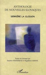 Satt2018.fr Derrière la cloison. Anthologie de nouvelles slovaques Image