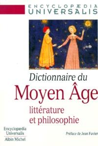 DICTIONNAIRE DU MOYEN-AGE. Littérature et philosophie.pdf