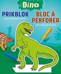 Collectif - Dino bloc à perforer.