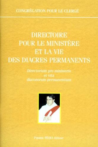 Collectif - Directoire pour le ministère et la vie des diacres permanents - [22 février 1998.