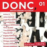 Collectif - DONC, Revue sonore de poésie (Volume 1).