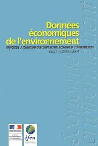 Données économiques de lenvironnement. Rapport de la Commission des comptes et de léconomie de lenvironnement, édition 2000-2001.pdf