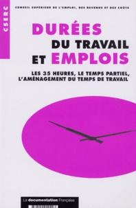Feriasdhiver.fr DUREES DU TRAVAIL ET EMPLOIS. Les 35 heures, le temps partiel, l'aménagement du temps de travail Image