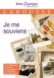 Collectif - EBOOK /Je me souviens.