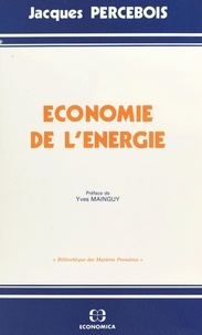 Collectif - Économie de l'énergie.