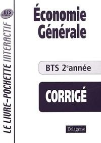 Birrascarampola.it Economie générale BTS 2ème année. Livre du professeur, Corrigé Image