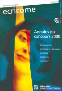 Ecricome. Annales du concours 2000.pdf