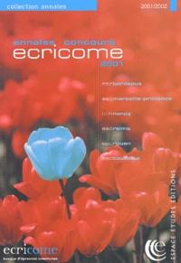 ECRICOME. Annales du concours 2001.pdf