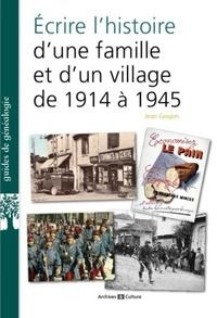 Téléchargements ebook gratuits pour nook uk Ecrire l'histoire d'une famille et d'un village de 1914 a 1939 (Litterature Francaise) 9782350773360