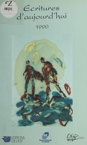 Collectif - Écritures d'aujourd'hui, 1990.