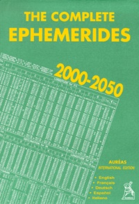 Collectif - Éphemerides, 2000-2050 - 0h TD.