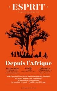 Collectif - Esprit - depuis l'afrique - JUILLET-AOÛT 2020.