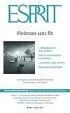 Collectif - Esprit janvier 2016 - Violences sans fin.