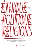 Collectif - Ethique, politique, religions 2015 - 2, n  7 - societes fermees et societes ouve - societes fermees.