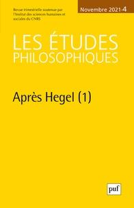 Collectif - Etudes philosophiques 2021, n.4.