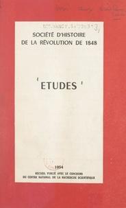 Collectif et  Société d'histoire de la révol - Études.