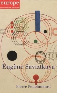 Collectif - Eugene Savitzkaya - N° 1099-1100 novembre-décembre 2020.