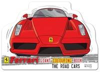 Collectif - Ferrari, les voitures de route - Livre de coloriage géant.