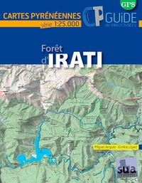 Collectif - Forêt d'Irati - Carte + guide.