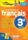 Collectif - Français 3e je m'entraine.