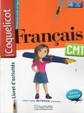 Collectif - Français CM1 Coquelicot - Livret d'activités.