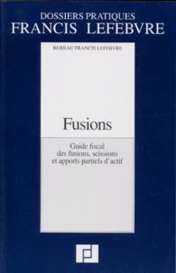 FUSIONS. Guide fiscal des fusions, scissions et apports partiels dactif.pdf