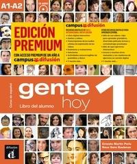 Collectif - Gente hoy 1 - livre de l'eleve + cd premium.