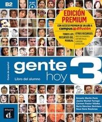 Collectif - Gente Hoy 3 - Livre de l'élève + CD PREMIUM.