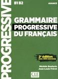 Collectif - Grammaire progressive du français avancé. 1 CD audio MP3