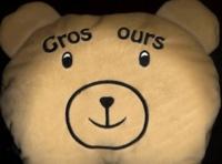 Accentsonline.fr Gros ours. - Mon drôle de livre-coussin Image