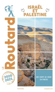 Collectif - Guide du Routard Israël Palestine 2020/21.