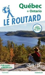 Collectif - Guide du Routard Québec, Ontario et prov. maritimes 2019/20.