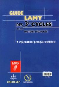 Icar2018.it GUIDE LAMY DES 3EME CYCLES ET DES MASTERS SPECIALISES 1999 Image
