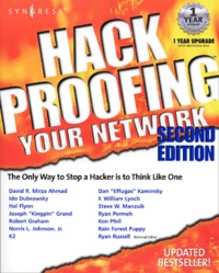 Histoiresdenlire.be Hack Profing Your Network. 2nd Edition Image