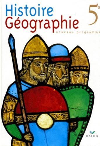 Histoire Geographie 5eme Programme 1997