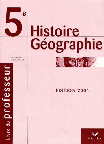 Histoire Geographie 5eme Livre Du Professeur Edition 2001