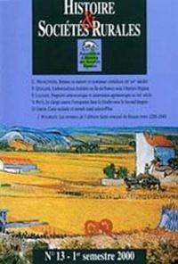 Histoire & sociétés rurales N° 13 1er semestre 2000.pdf