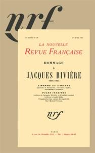 Collectif - Hommage à Jacques Rivière.