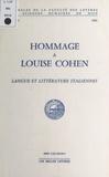 Collectif - Hommage à Louise Cohen.