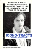 Collectif - Icono-tracts - Novembre-décembre 1995.
