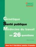 Collectif - Impact internat - Génétique. Santé publique. Médecine du travail.