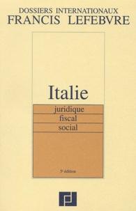 Histoiresdenlire.be Italie juridique, fiscal, social. 5ème édition Image
