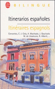 Collectif - Itinéraires espagnols : Itinerarios españoles.