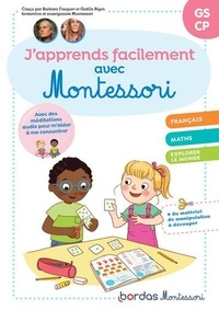Collectif - J'apprends facilement avec montessori gs-cp.